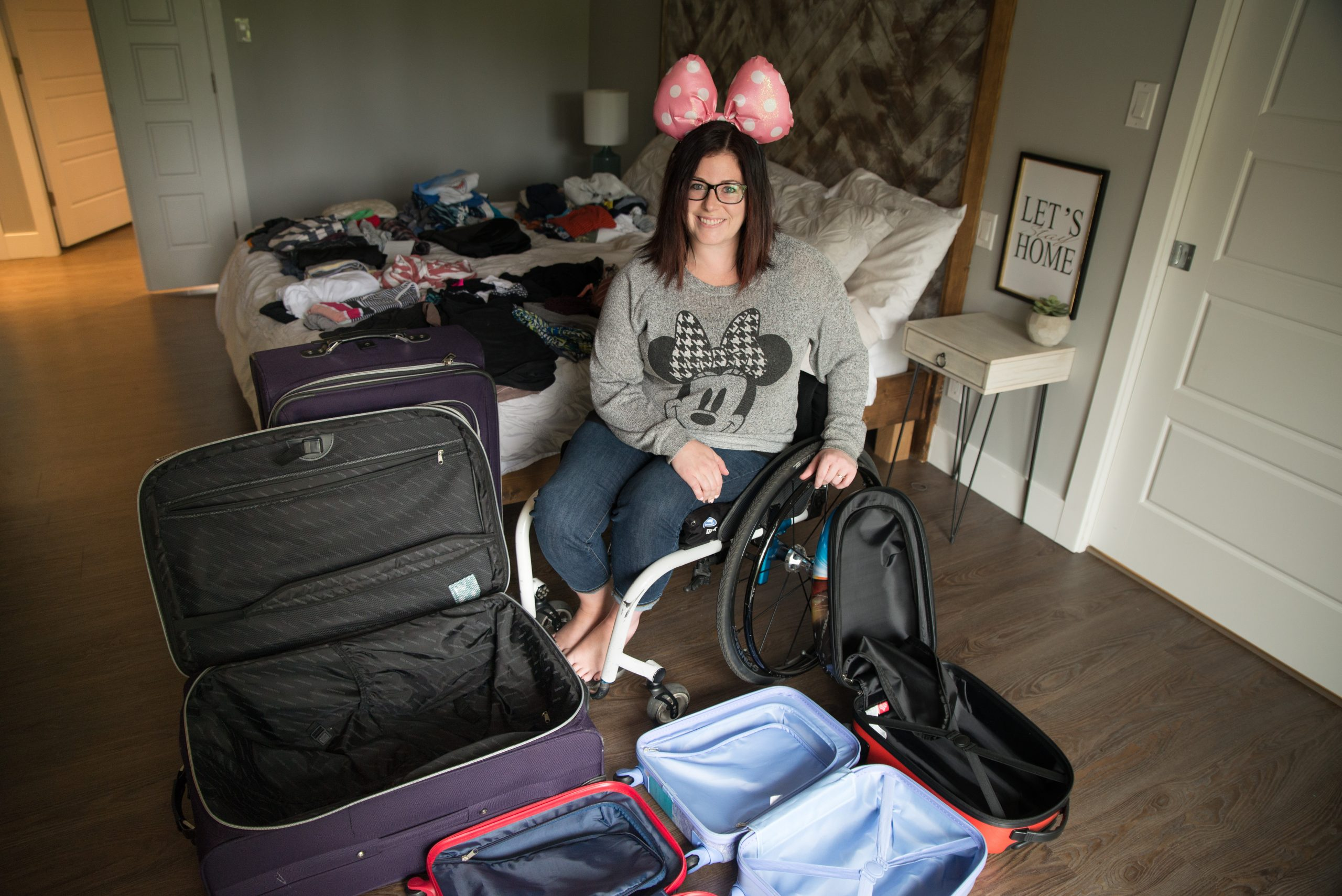 Going to Disney with a Spinal Cord Injury - Part 1: the Planning and the Packing